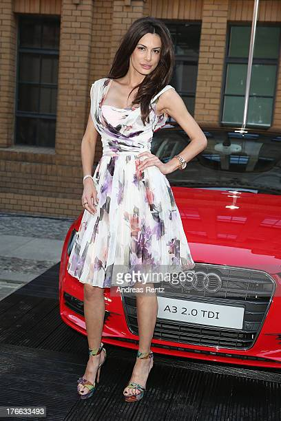 Joanna Tuczynska attends the 12th Audi Classic Open Air during the AUDI Sommernacht at Kulturbrauerei on August 16 2013 in Berlin Germany