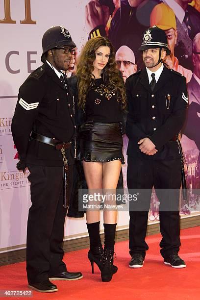 Joanna Tuczynska attends the `Kingsman The Secret Service' German Premiere at CineStar on February 3 2015 in Berlin Germany