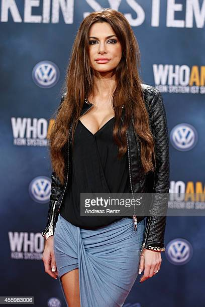 Joanna Tuczynska attends the premiere of the film 'Who am I' at Zoo Palast on September 23 2014 in Berlin Germany