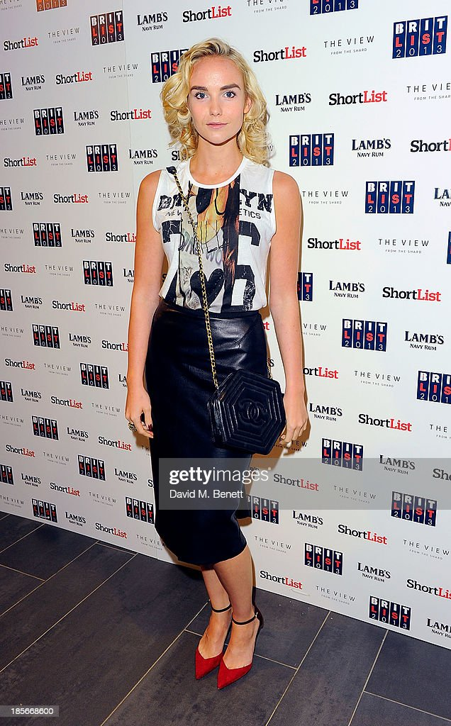 Joanna Vanderham at The View from The Shard on October 23, 2013 in London, England.