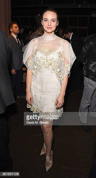 Joanna Vanderham attends an after party following the press night performance of 'The Dazzle' at FOUND111 on December 15 2015 in London England
