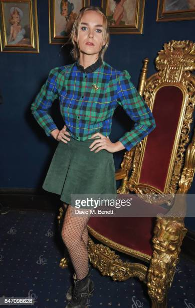 Joanna Vanderham attends the iD x Jeremy Scott party presented by UGG at Cafe de Paris on September 14 2017 in London England