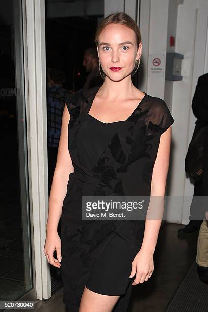 Joanna Vanderham attends the press night after party of 'Boy' at The Almeida Theatre on April 12 2016 in London England