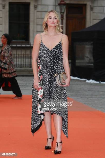 Joanna Vanderham attends the preview party for the Royal Academy Summer Exhibition at Royal Academy of Arts on June 7 2017 in London England