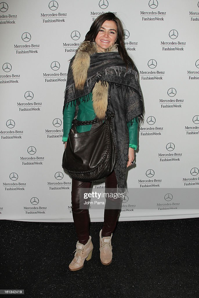 Joanne Black is seen during Fall 2013 Mercedes-Benz Fashion Week at Lincoln Center for the Performing Arts on February 9, 2013 in New York City.
