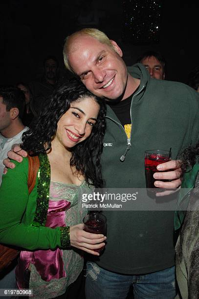 Joanne Factor and Steve Eichner attend Patrick McMullan hosts annual St Patrick's Day Party at ARENA on March 17 2007 in New York