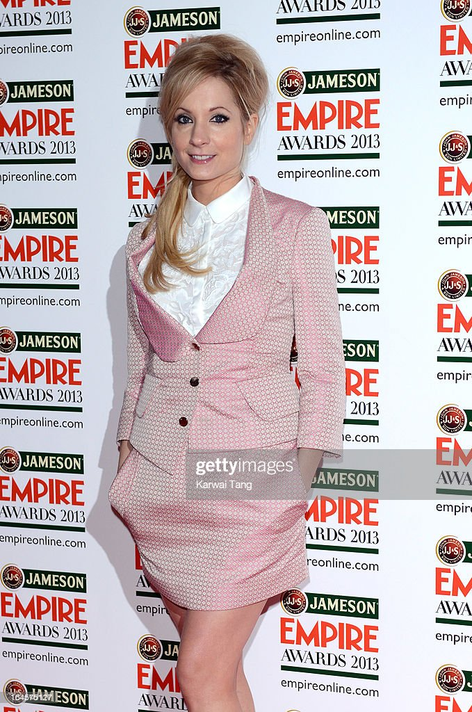 Joanne Forggatt attends the 18th Jameson Empire Film Awards at Grosvenor House, on March 24, 2013 in London, England.
