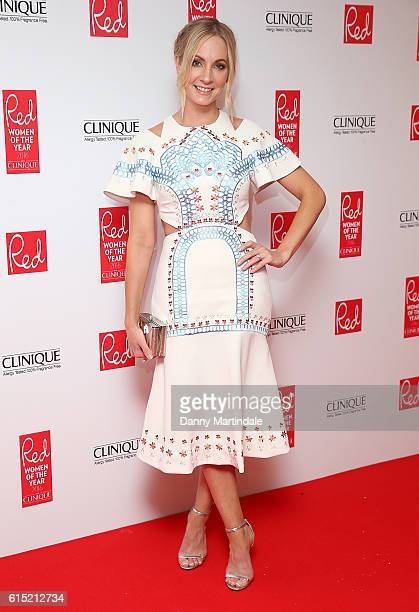 Joanne Frogatt attends the Red Women of the year awards at The Skylon on October 17 2016 in London England