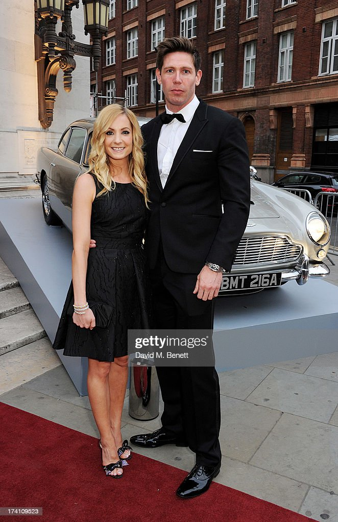 Joanne Froggatt and husband James Cannon attend Aston Martin's Centenary Birthday Party celebrating 100 years as one of the world's most iconic...