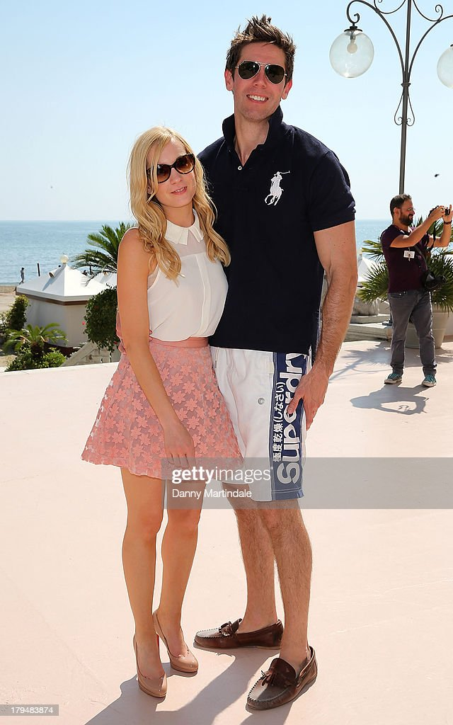 <a gi-track='captionPersonalityLinkClicked' href=/galleries/search?phrase=Joanne+Froggatt&family=editorial&specificpeople=2364245 ng-click='$event.stopPropagation()'>Joanne Froggatt</a> and James Cannon attend day 8 of the 70th Venice International Film Festival on September 4, 2013 in Venice, Italy.
