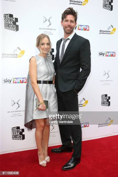 Joanne Froggatt and James Cannon attending The Southbank Sky Arts Awards 2017 at The Savoy Hotel on July 9 2017 in London England