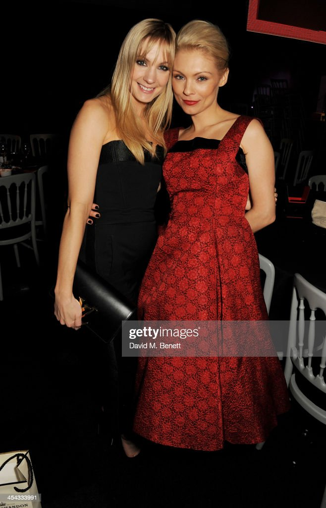 Joanne Froggatt (L) and MyAnna Buring attend an after party following the Moet British Independent Film Awards 2013 at Old Billingsgate Market on December 8, 2013 in London, England.
