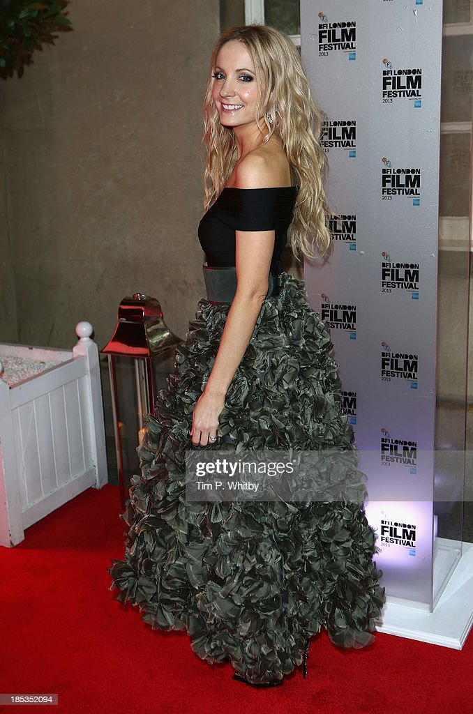 <a gi-track='captionPersonalityLinkClicked' href=/galleries/search?phrase=Joanne+Froggatt&family=editorial&specificpeople=2364245 ng-click='$event.stopPropagation()'>Joanne Froggatt</a> attends the BFI London Film Festival Awards during the 57th BFI London Film Festival at Banqueting House on October 19, 2013 in London, England.