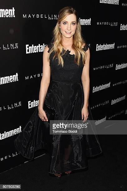 Joanne Froggatt attends the Entertainment Weekly's Celebration Honoring The 2016 SAG Awards Nominees held at Chateau Marmont on January 29 2016 in...