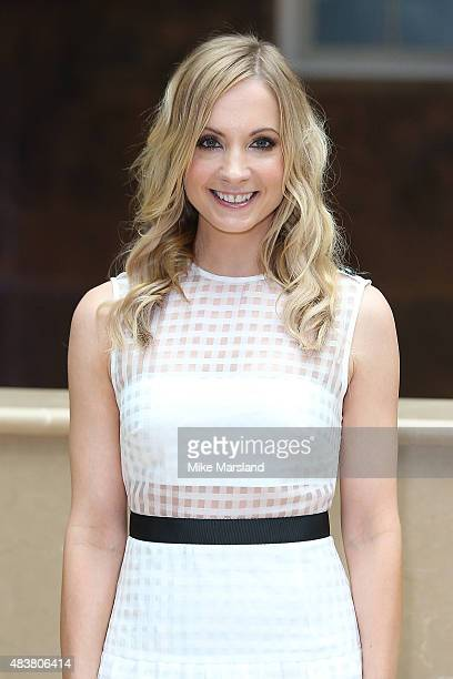 Joanne Froggatt attends the press launch of 'Downton Abbey' at May Fair Hotel on August 13 2015 in London England
