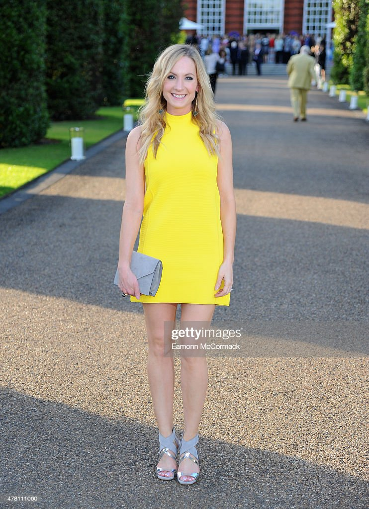 Joanne Froggatt attends the Vogue and Ralph Lauren Wimbledon party at The Orangery on June 22 2015 in London England