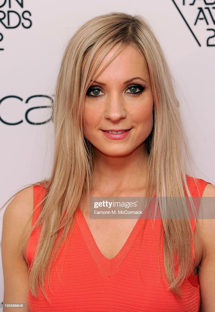 Joanne Froggatt during the WGSN Global Fashion Awards at The Savoy Hotel on November 5, 2012 in London, England.