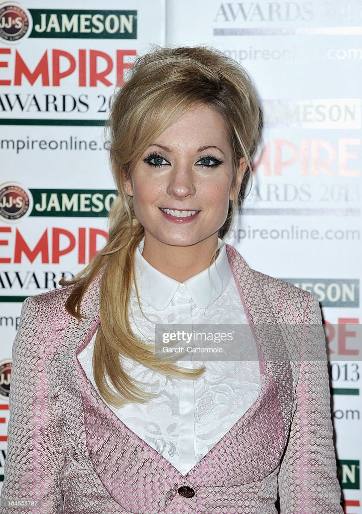 Joanne Froggatt is pictured arriving at the Jameson Empire Awards at Grosvenor House on March 24, 2013 in London, England.