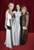Joanne Froggatt Sophie Mcshera and Lesley Nicol arrive at the closing ceremony of the 54th MonteCarlo Television Festival on June 11 2014 in...