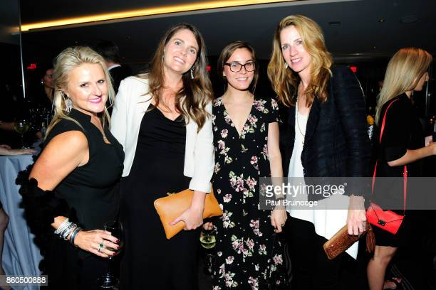 Joanne Gibbs Kara Marmion Annie Marosits and Karen Peterson attend the Decoration and Design Building celebrates the 2017 winners of the DDB's 10th...