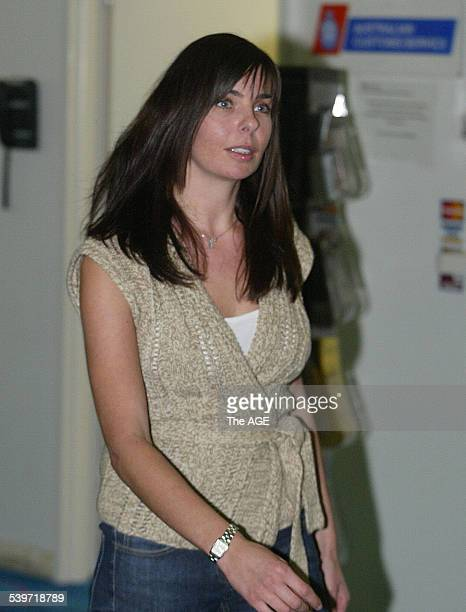 FALCONIO CASE Joanne Lees arrives in Darwin with a friend from the UK prior to the start of the trial of Bradley John Murdoch for the murder of her...