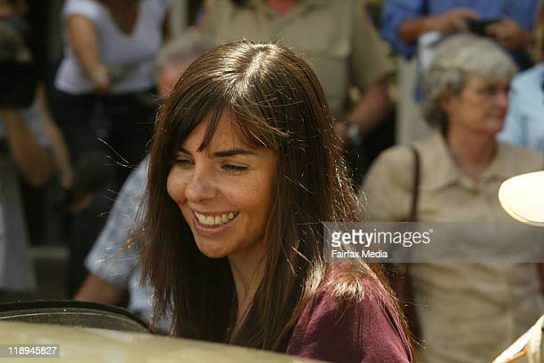 Joanne Lees is seen on December 15 2005 in Darwin Australia July 14 2011 marks the ten year anniversary of the disappearance of British backpacker...