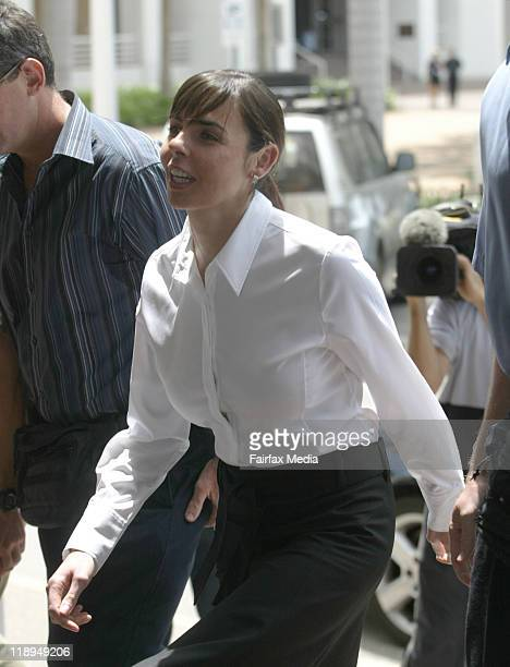 Joanne Lees is seen on October 17 2005 in Darwin Australia July 14 2011 marks the ten year anniversary of the disappearance of British backpacker...