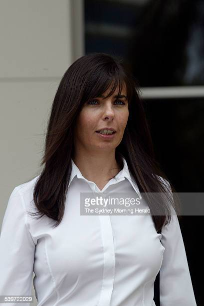 FALCONIO CASE Joanne Lees leaves the Northern Territory Supreme Court after being called by the defence to give evidence during the trial of Bradley...