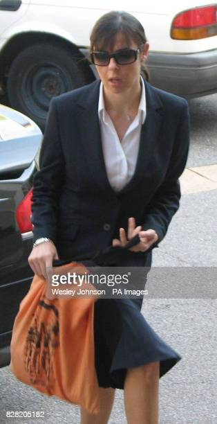 Joanne Lees the girlfriend of a British backpacker allegedly murdered in the Australian outback more than four years ago arrives at the Northern...