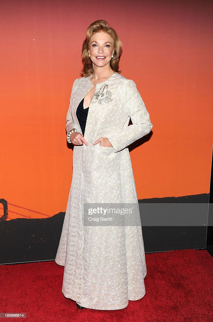 Joanne Leonhardt Cassullo arrives at the 2013 Whitney Gala And Studio Party at Skylight at Moynihan Station on October 23, 2013 in New York City.