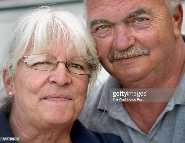Joanne Molnar age 64 and husband Mark age 62 work as 'Workampers' managing a camping park in Trenton ME on June 22 2017 Workampers are employees...