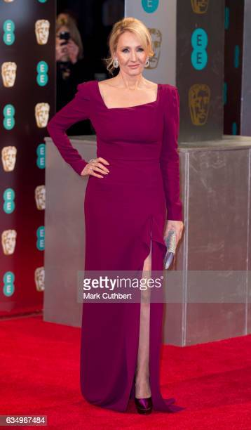 Joanne Rowling attends the 70th EE British Academy Film Awards at Royal Albert Hall on February 12 2017 in London England
