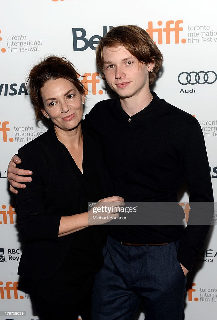 <a gi-track='captionPersonalityLinkClicked' href=/galleries/search?phrase=Joanne+Whalley&family=editorial&specificpeople=858662 ng-click='$event.stopPropagation()'>Joanne Whalley</a> (L) and actor Jack Kilmer arrive at the 'Palo Alto' premiere during the 2013 Toronto International Film Festival at Scotiabank Theatre on September 6, 2013 in Toronto, Canada.