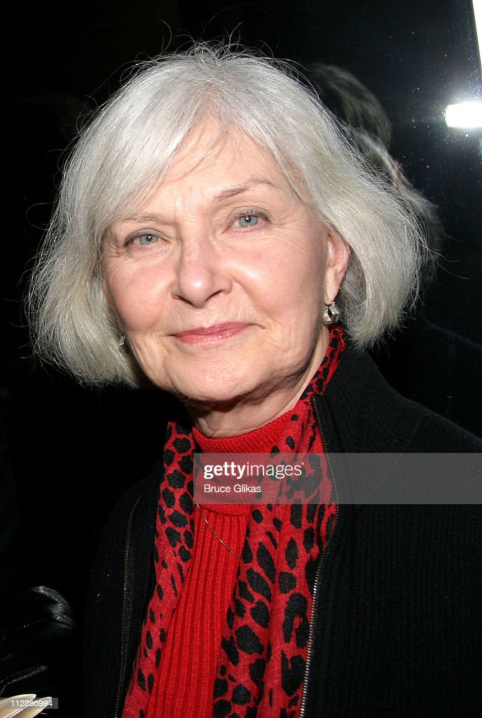 <a gi-track='captionPersonalityLinkClicked' href=/galleries/search?phrase=Joanne+Woodward&family=editorial&specificpeople=211476 ng-click='$event.stopPropagation()'>Joanne Woodward</a> during Sam Shepard Returns To The Stage After 31 Years Absence In 'A Number' at NYTW Theater in New York City, New York, United States.