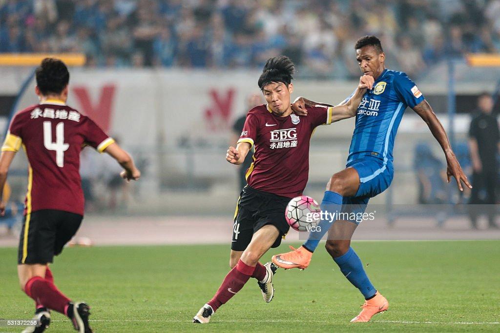 Jiangsu Suning v Shijiazhuang Ever Bright - CSL Chinese Football Association Super League Round 9