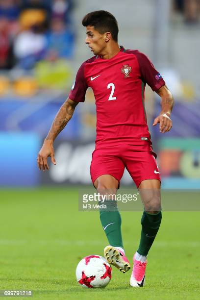 Joao Cancelo during the UEFA European Under21 match between Portugal and Spain on June 20 2017 in Gdynia Poland