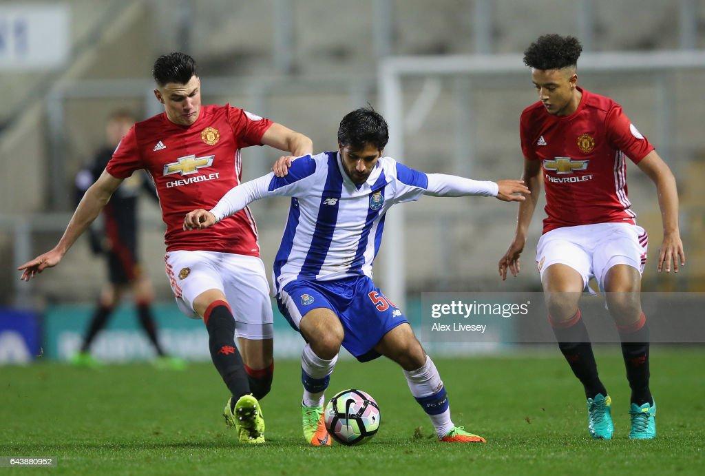 Manchester United U23 v Porto B: Premier League International Cup Quarter Final : News Photo