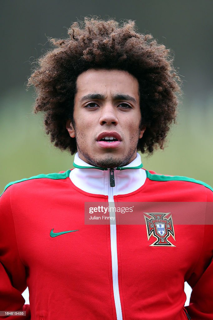 Joao Lima of Portugal looks on during the UEFA European Under-17 Championship Elite Round match between Russia and Portugal on March 28, 2013 in Burton-upon-Trent, England.
