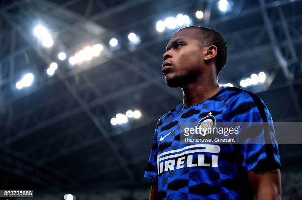 Joao Mario of FC Interernazionale looks during the International Champions Cup match between FC Bayern Munich and FC Internazionale at National...