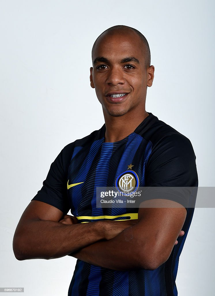 Joao Mario of FC Internazionale poses during the official portrait session on August 28 2016 in Milan Italy