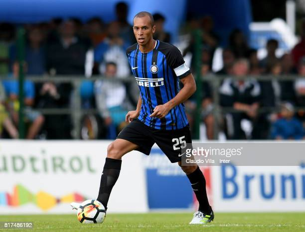 Joao Miranda de Souza Filho of FC Internazionale in action during the PreSeason Friendly match between FC Internazionale and Nurnberg on July 15 2017...