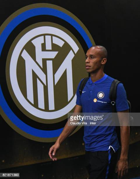 Joao Miranda de Souza Filho of FC Internazionale looks on prior to the 2017 International Champions Cup match between FC Internazionale and Olympique...