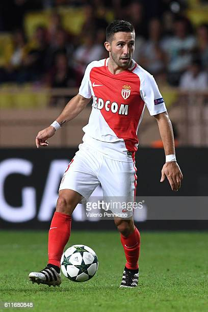 Joao Moutinho of AS Monaco FC in action during the UEFA Champions League Group E match between AS Monaco FC and Bayer 04 Leverkusen at Louis II...