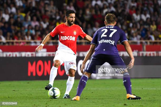Joao Moutinho of Monaco during the Ligue 1 match between AS Monaco and Toulouse at Stade Louis II on August 4 2017 in Monaco