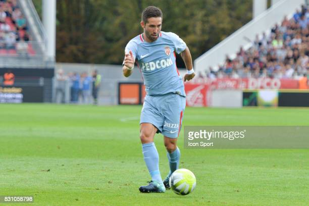 Joao Moutinho of Monaco during the Ligue 1 match between Dijon FCO and AS Monaco at Stade Gaston Gerard on August 13 2017 in Dijon