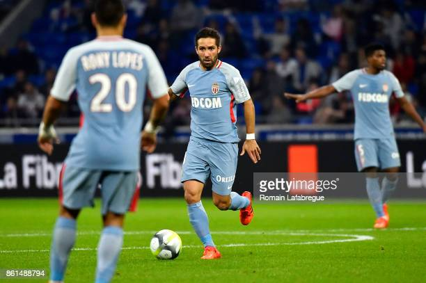 Joao Moutinho of Monaco during the Ligue 1 match between Olympique Lyonnais and AS Monaco at Stade des Lumieres on October 13 2017 in Lyon