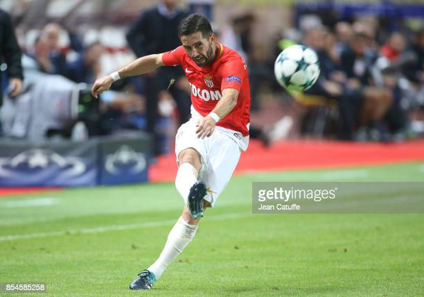 Joao Moutinho of Monaco during the UEFA Champions League group G match between AS Monaco and FC Porto at Stade Louis II on September 26 2017 in...