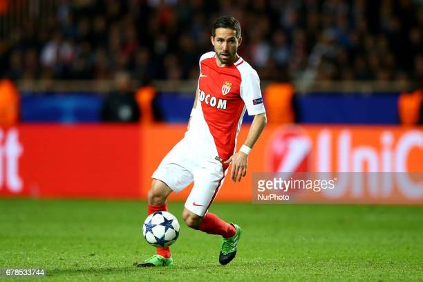Joao Moutinho of Monaco during the UEFA Champions League Semi Final first leg match between AS Monaco v Juventus at Stade Louis II on May 3 2017 in...
