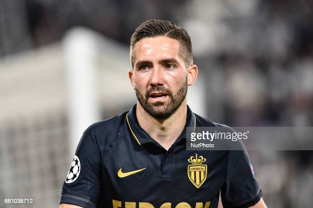Joao Moutinho of Monaco during the UEFA Champions League SemiFinal game 2 match between Juventus and Monaco at the Juventus Stadium Turin Italy on 9...