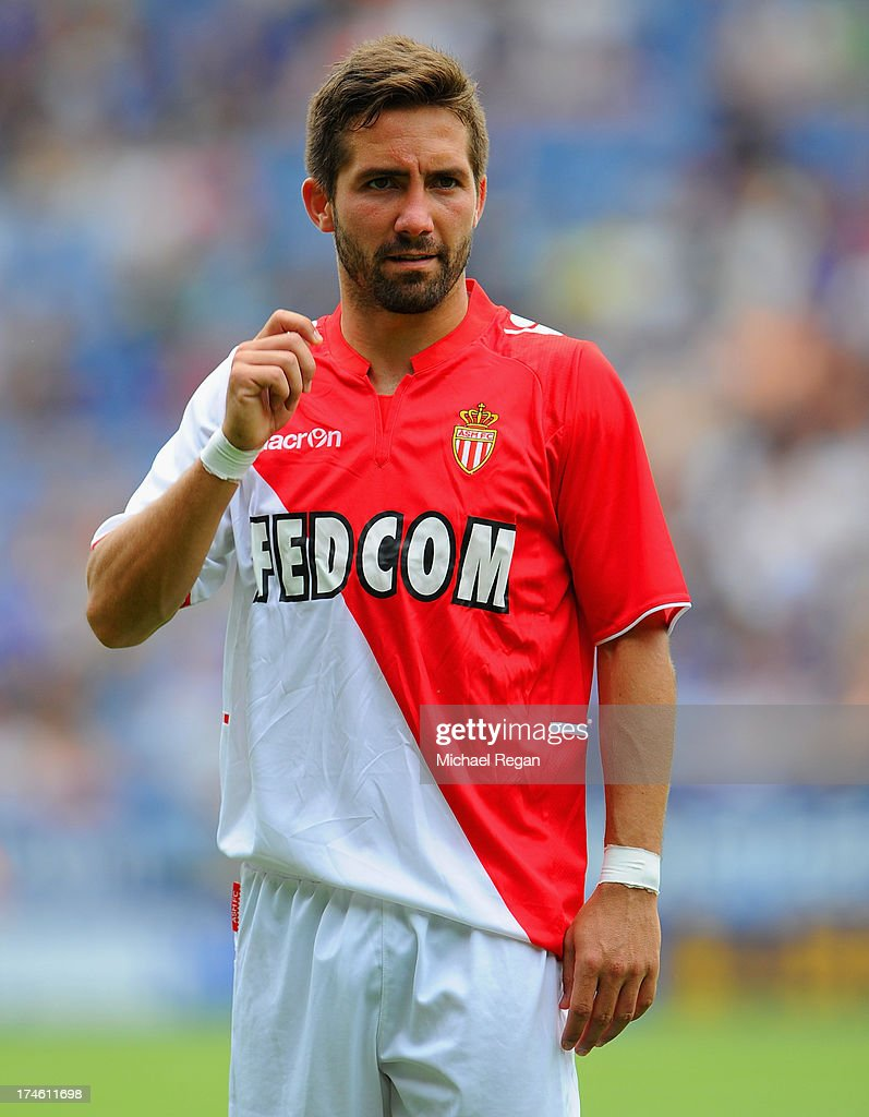 Joao Moutinho of Monaco looks on during the the pre season friendly match between Leicester City and Monaco at The King Power Stadium on July 27 2013...